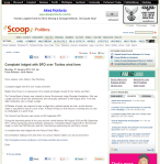 Complaint lodged with SFO over Turitea wind farm Scoop News part page